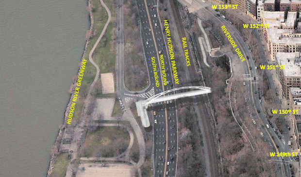 W  Allen Engineering : NYSDOT: 151st St  Pedestrian Bridge